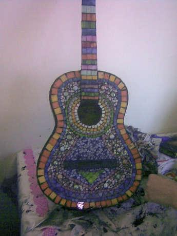 mozaik gitar