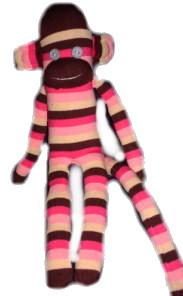 Çoraptan maymuna :)
