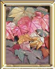 Yapraklardan bir tablo