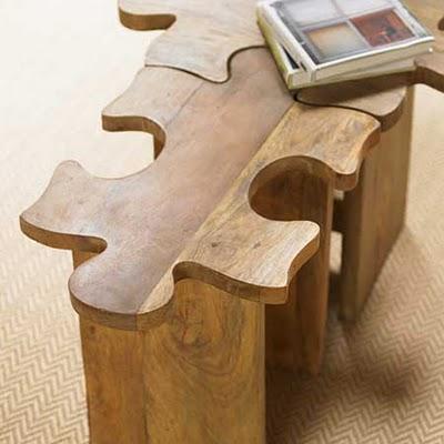 Puzzle tabure