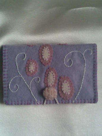 keçe cüzdan/kartlık