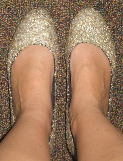7. Parıldayan ayaklar