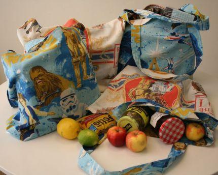 Eski yatak çarşaflarından çanta yapalım