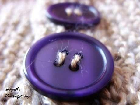çok sevdim bu mor düğmeleri :)