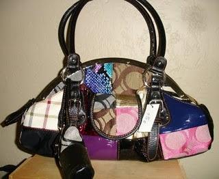 kırk yamalı çanta