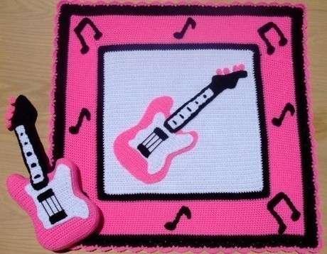 Amigurumi Guitarra Patron : orgu bebek battaniyesi modelleri Hobilendik