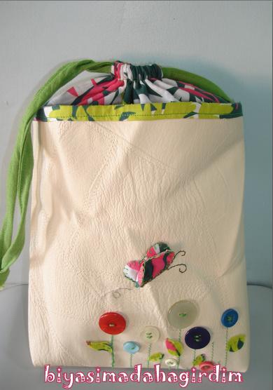 çocuk bezi çantası