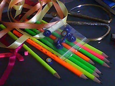 şeker gibi kalemler..
