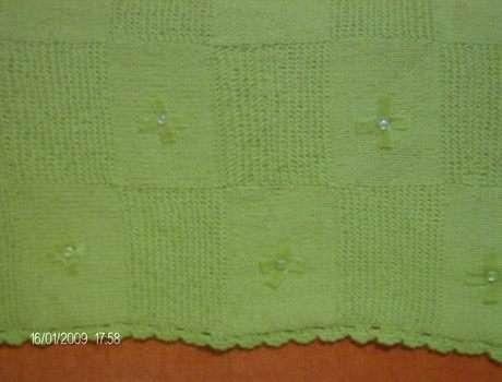 kızımın yeşil  battaniyesi