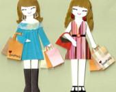 Bunlar alışveriş delisi amerikalı:)