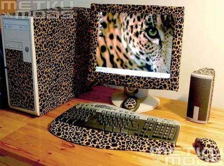 Леопардовая шкура.