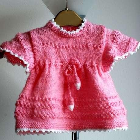 вязаное платье крючком для девочки 6 месяцев схема.  Автор:Admin.