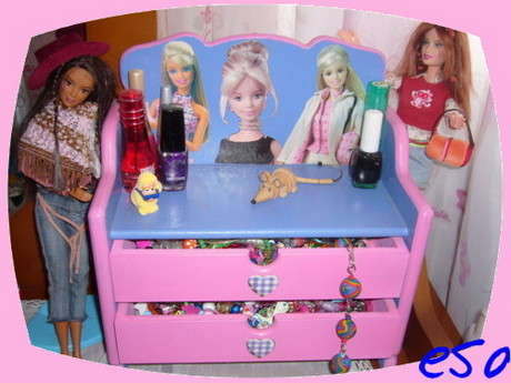 Barbie Takı Kutusu