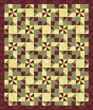yorgan-patchwork-çarkıfelek