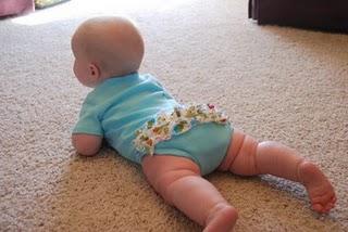 fırfırlı bebek badisi