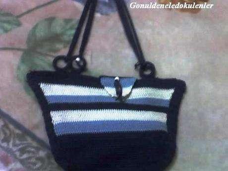makrome çanta