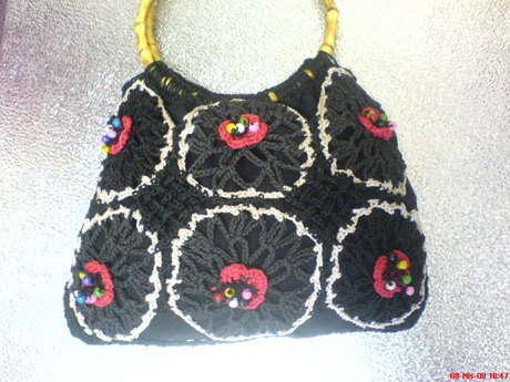 çiçekli çantam