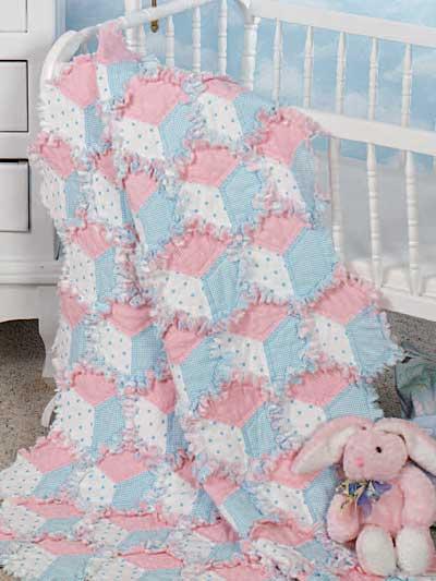 Kırkyama Bebek Yatak Örtüsü Modeli