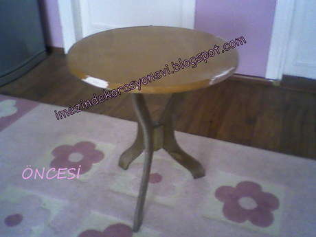 eski fiskos masası