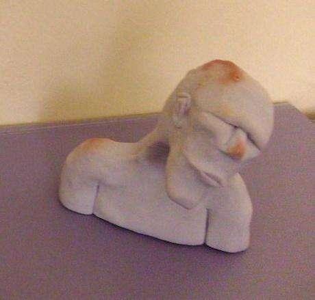 fimodan ilk heykelim