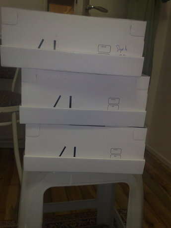 bakalım kutulardan neler oldu