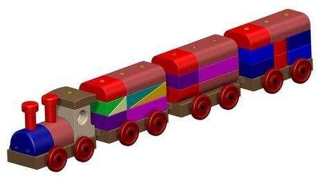 Tahtadan tren : harika bir oyuncak..