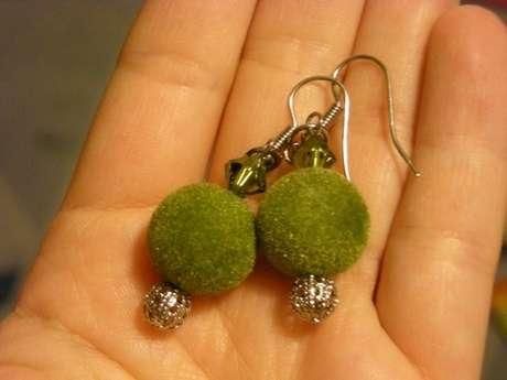 Yeşil Kadife Küpelerim