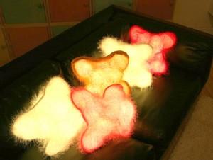 ışıklı yastık