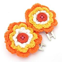 Sarı, turuncu çiçekler