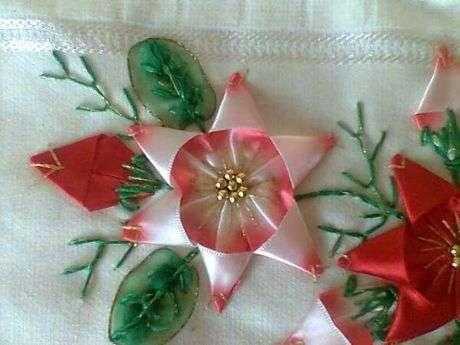 Kurdeladan Çiçek Yapımı