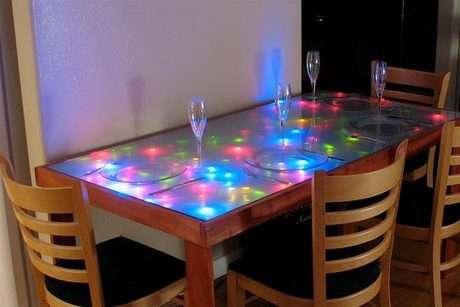 Işıklı masalar...