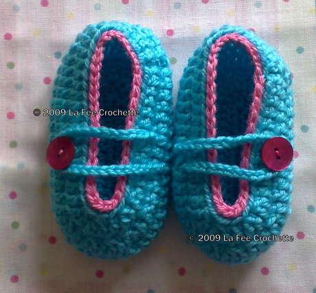 bubblegum 2bbootie Örgü Bebek Patiği Örneği