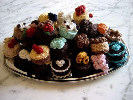 Örgü kek yığını :)