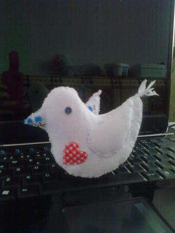 bu da bir arkadaşıma hediye ettiğim diğer kuş..