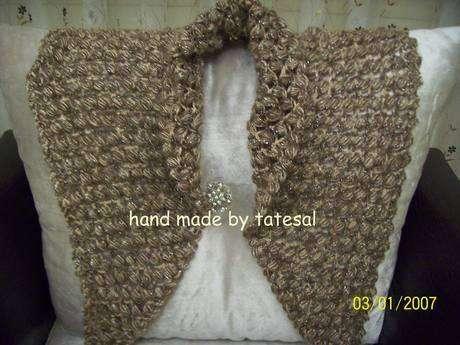 Loren-Wool simli tiftik iple ördüm fıstıklı şalımı.Yumuşacık oldu.
