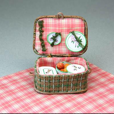 minyatur piknik sepeti