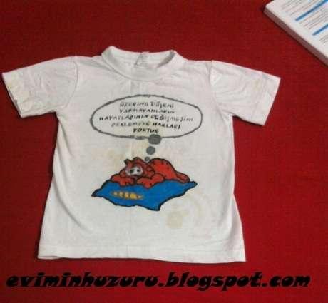 tişörtün önü