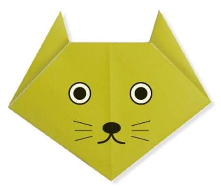 Okul �ncesi Etkinlikler-Ka��t Katlama (Origami) �al��malar�, �rnekleri