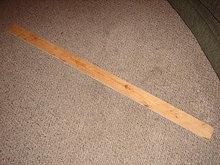 uzun bir tahta