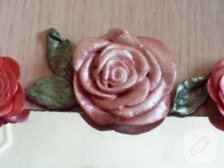 seramik hamuru çiçek