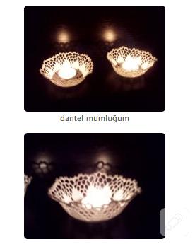 dantel mumluk