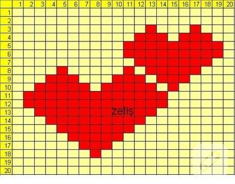 kalpli lif şablonu