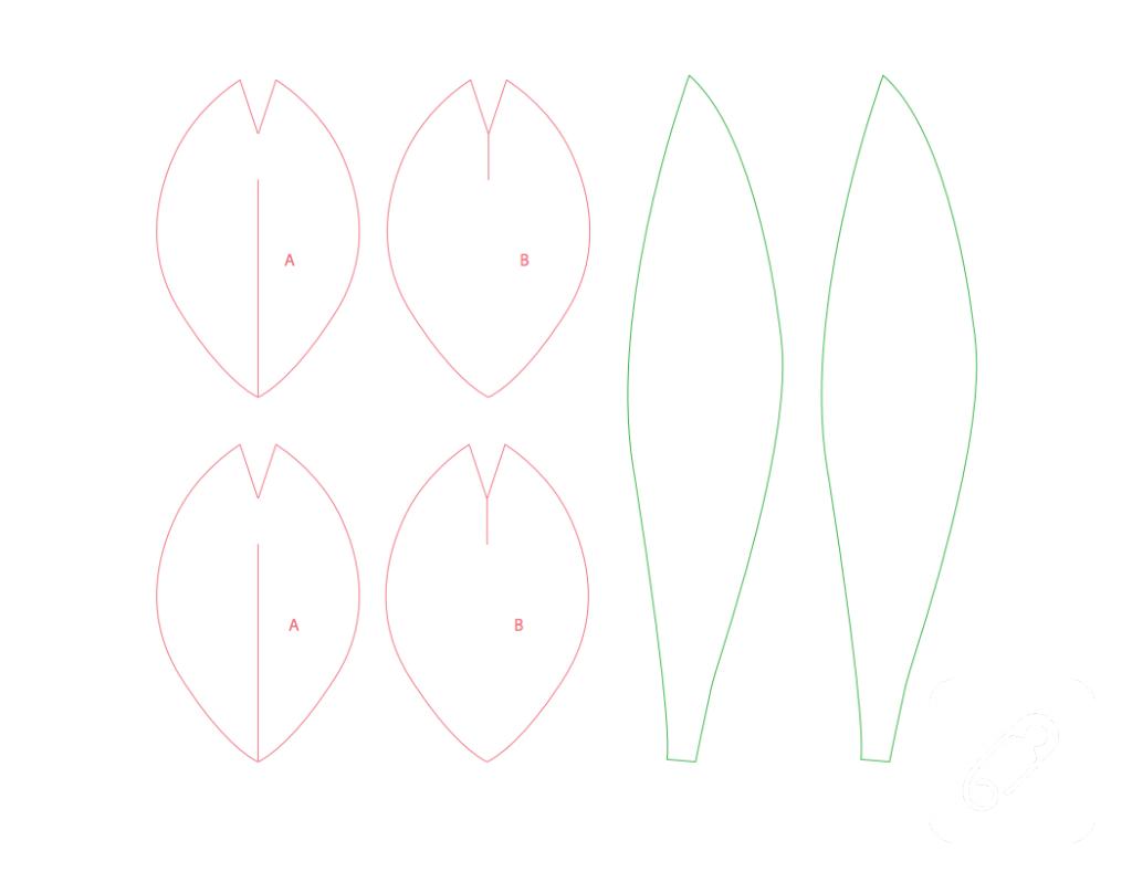 Шаблон для открытки тюльпаны для вырезания из бумаги, красивые открытки мая