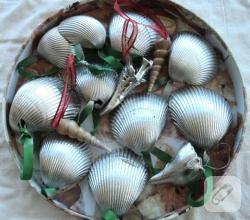 gumus-boyali-midye-dekoratif-sus-yapimi