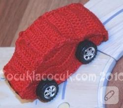 amigurumi-kirmizi-orgu-araba-oyuncak