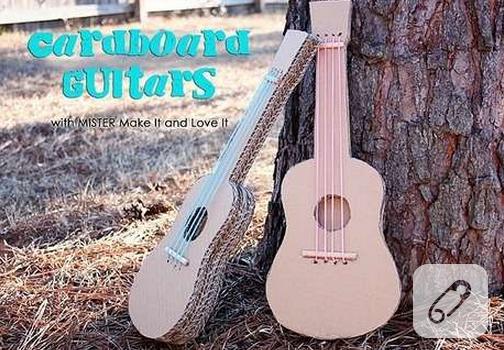 kartondan-gitar