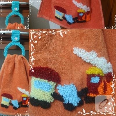trenli havlu kenarı