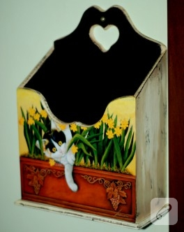 Kedili Kapı Kutusu