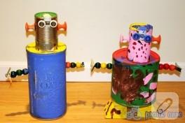 Atık Malzemelerden Robotlar
