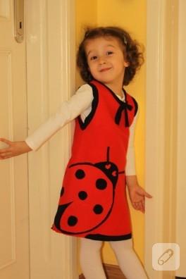 Kızıma Keçe Elbise